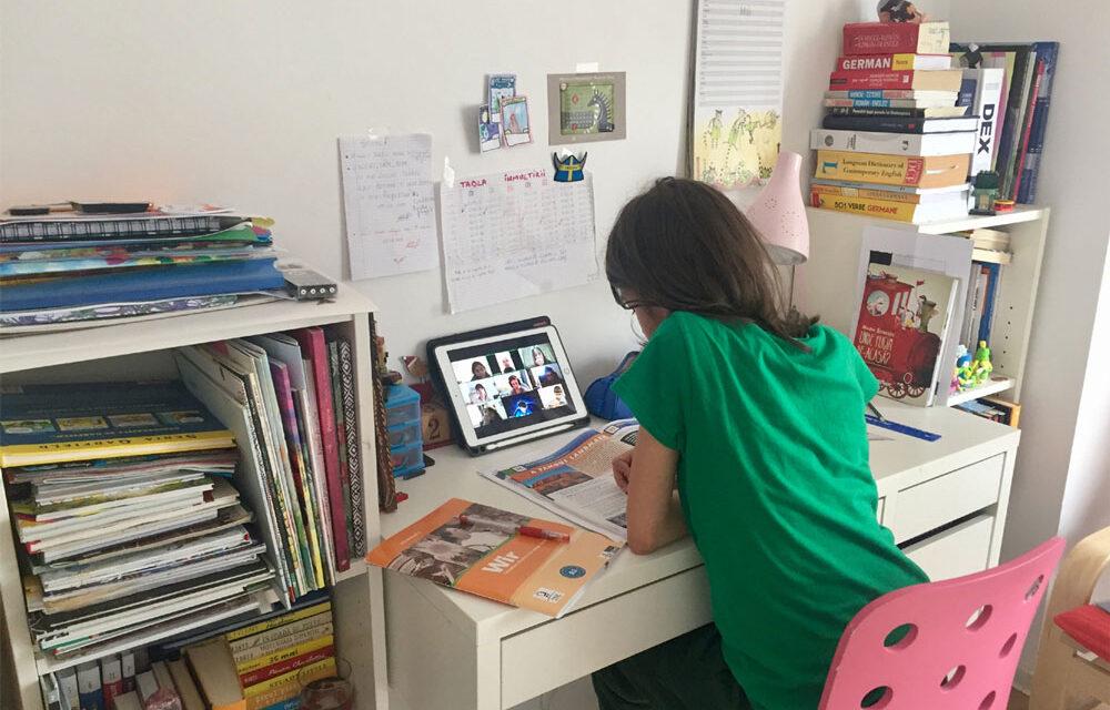 Tulcea: Peste 80 de clase au trecut în sistem online în urma cazurilor confirmate de COVID-19